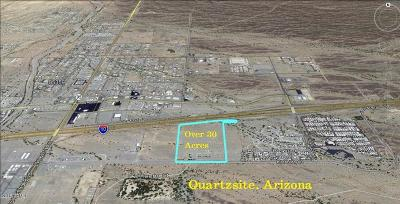 Quartzsite Residential Lots & Land For Sale: 600 E Kuehn Street