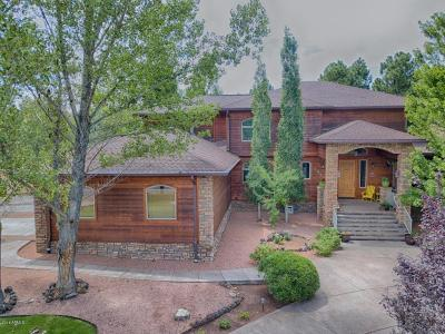 Payson, Pine, Pinedale, Pinetop, Lakeside, Show Low, Strawberry, Flagstaff, Munds Park, Prescott, Prescott Valley, Happy Jack, Sedona Single Family Home For Sale: 1920 S Knoll Trail
