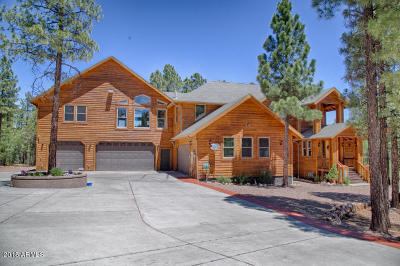 Show Low Single Family Home For Sale: 1460 S Elk Run Drive