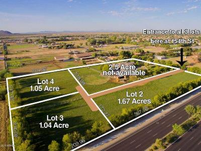 Gilbert Residential Lots & Land For Sale: 25235 S 154th Street