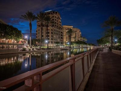Scottsdale Waterfront, Scottsdale Waterfront Residences, Scottsdale Waterfront Residences Condominium Apartment For Sale: 7175 E Camelback Road #702