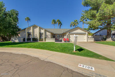 Scottsdale Single Family Home UCB (Under Contract-Backups): 8108 E Morgan Trail