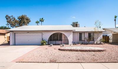 Single Family Home For Sale: 555 W Posada Avenue