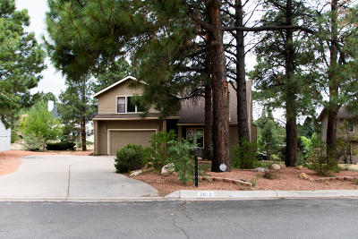 Flagstaff Single Family Home For Sale: 2619 N Carefree Circle