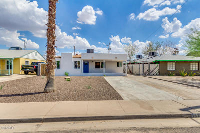 Phoenix Single Family Home For Sale: 1525 E Almeria Road