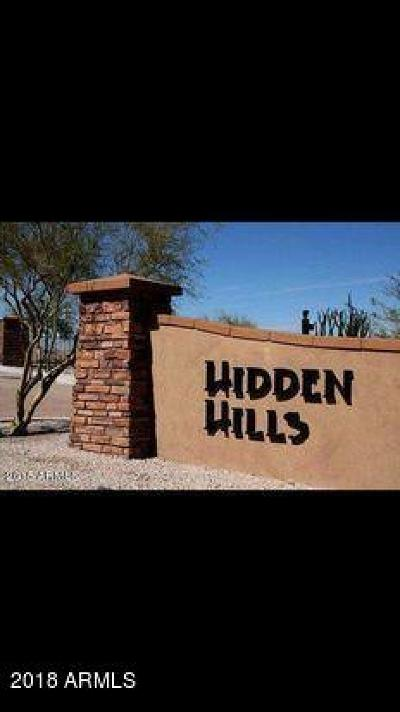 Goodyear Residential Lots & Land For Sale: 17926 W Estes Way