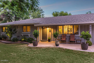 Phoenix Single Family Home UCB (Under Contract-Backups): 602 E Nicolet Avenue