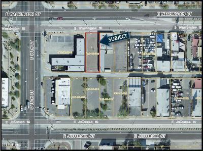 Phoenix Residential Lots & Land For Sale: 1615 E Washington Street