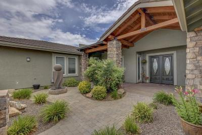 Prescott Valley Single Family Home For Sale: 11850 N Antelope Meadows Drive