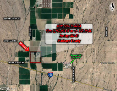Tonopah Residential Lots & Land For Sale: 39500 W Indian School Road