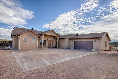 Show Low Single Family Home For Sale: 2249 Arizona Highway 77 Highway