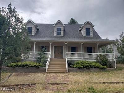 Pinetop Single Family Home For Sale: 2085 Manzanita Drive