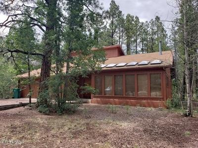 Pinetop Single Family Home For Sale: 6358 Wild Cat Way