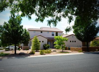 Prescott Valley Single Family Home For Sale: 7183 E Slow Draw Drive