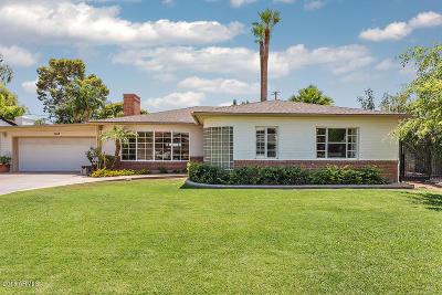 Phoenix Single Family Home For Sale: 1113 W Edgemont Avenue