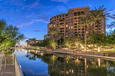 Scottsdale Waterfront, Scottsdale Waterfront Residences, Scottsdale Waterfront Residences Condominium Apartment For Sale: 7181 E Camelback Road #310