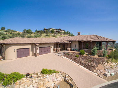 Prescott AZ Single Family Home For Sale: $1,189,000