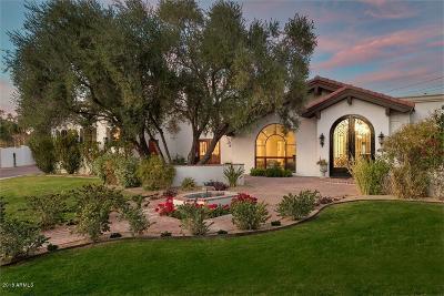 Scottsdale Single Family Home For Sale: 6242 E Laurel Lane