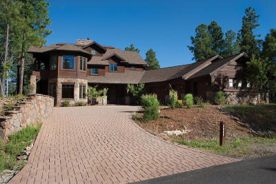 Flagstaff Single Family Home For Sale: 1943 E Barranca Drive #Lot 86
