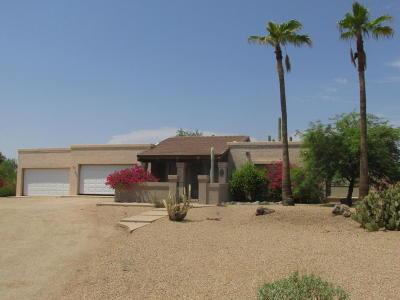 Single Family Home For Sale: 6140 E Quail Track Drive