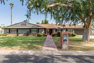 Phoenix Single Family Home For Sale: 333 W Orangewood Avenue