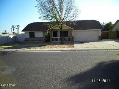 Gilbert Single Family Home For Sale: 1155 N Ash Street