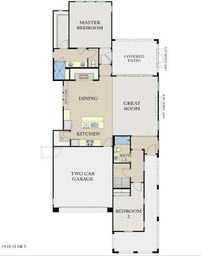 Buckeye Single Family Home For Sale: 20753 W Hillcrest Boulevard