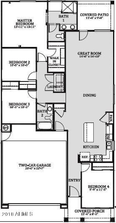 Maricopa Single Family Home For Sale: 19809 N Jill Avenue
