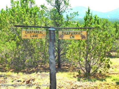 Coconino County Residential Lots & Land For Sale: 1457 E Chaparral Lane