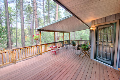 Pinetop Single Family Home For Sale: 2730 Sunflower Drive