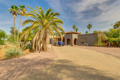 Single Family Home For Sale: 5739 E Cactus Road