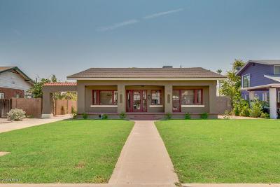 Phoenix Single Family Home UCB (Under Contract-Backups): 115 W Granada Road