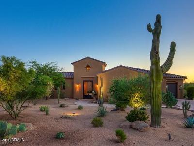 Scottsdale Single Family Home For Sale: 10737 E Scopa Trail
