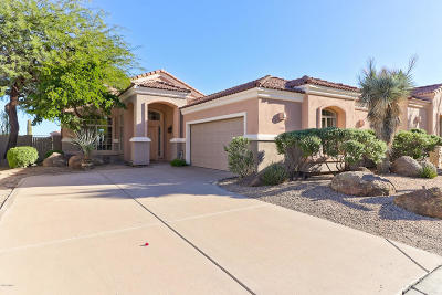 Scottsdale Single Family Home For Sale: 11567 E Desert Willow Drive