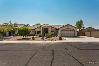 Casa Grande Single Family Home For Sale: 2455 N Sandstone Place