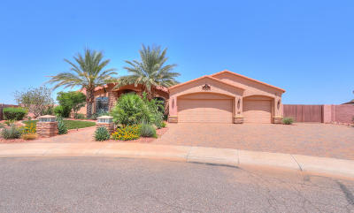 Casa Grande Single Family Home For Sale: 104 W Crimson Sky Court