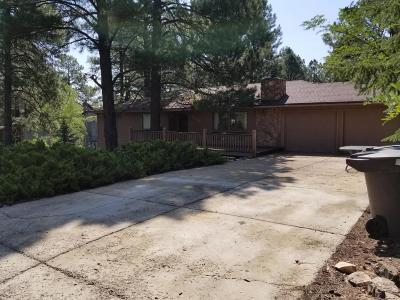 Flagstaff Single Family Home For Sale: 3236 S Mehrhoff Place