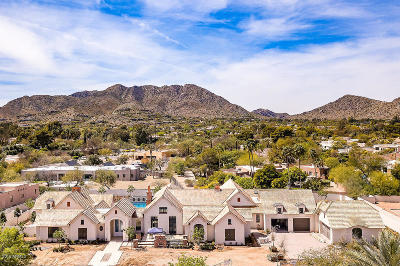Paradise Valley Single Family Home For Sale: 8620 N Avenida Del Sol Lane