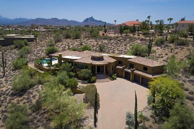 Fountain Hills Single Family Home For Sale: 16149 E Thistle Drive