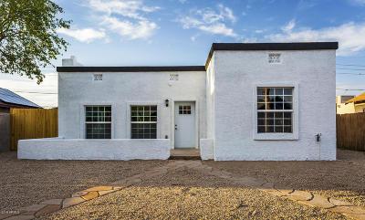 Phoenix Single Family Home For Sale: 1622 W Taylor Street