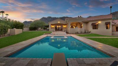 Paradise Valley AZ Single Family Home For Sale: $3,499,000