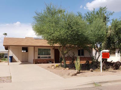 Tempe Single Family Home For Sale: 328 W Riviera Drive
