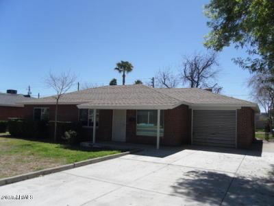 Phoenix Rental For Rent: 1719 W Rovey Avenue