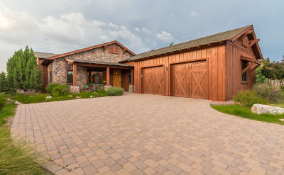 Prescott Single Family Home For Sale: 5760 W Johnny Mullins Drive