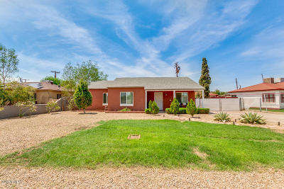 Phoenix Single Family Home For Sale: 1802 N Whittier Drive