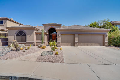 Phoenix Single Family Home For Sale: 409 W Mountain Sky Avenue