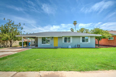 Phoenix Single Family Home For Sale: 2223 W Verde Lane
