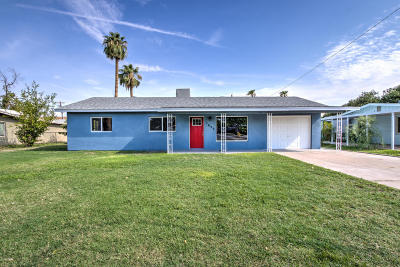 Tempe Single Family Home For Sale: 1620 E Hudson Drive
