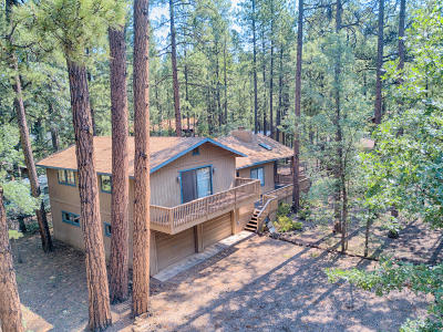 Pinetop Single Family Home For Sale: 3241 E Drift Fence Circle