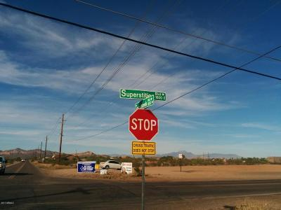 Apache Junction Residential Lots & Land For Sale: 10xx N Tomahawk Road